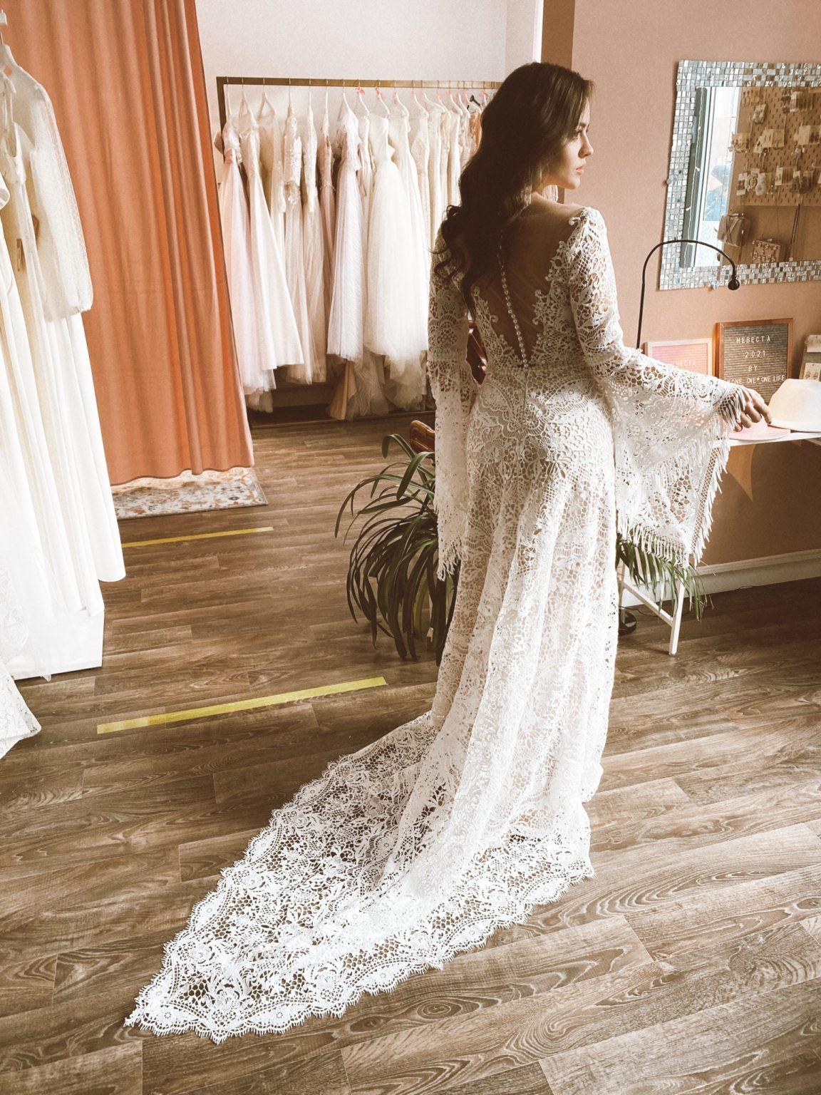 Образ невесты и свадебные платья в стиле Бохо