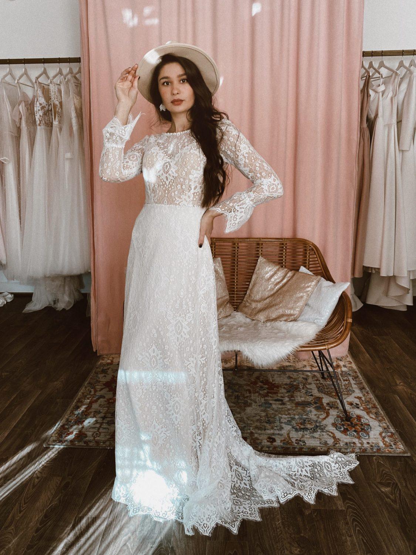 Свадебные платья А-силуэта, как выбрать